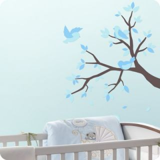 Lot 26 Studio Sweet Birds And Branches Wall Decals in Blue