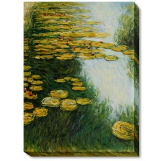 Amanti Art Water Lily Pond, 1899 (Blue) Framed Art Print by Claude