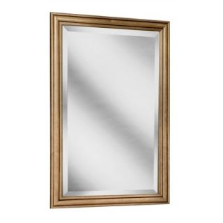 Coastal Collection Heritage Series 24 x 33 Maple Framed Mirror in