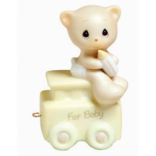 Precious Moments Birthday Train May Your Birthday Be Warm Baby Bear