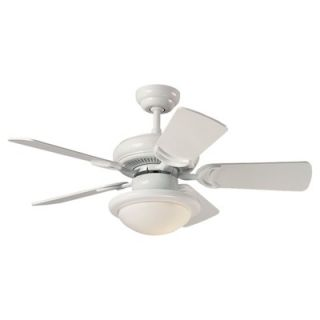 Monte Carlo Fan Company 34 Designer Supreme 5 Blade Ceiling Fan with