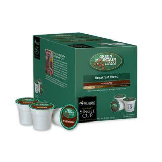 Keurig Green Mountain Coffee Roasters BreakFast Blend Coffee K Cup