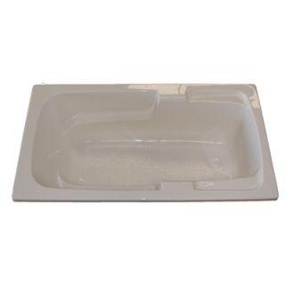 American Acrylic 60 x 30 Whirlpool and Air Massage Arm Rest Bath Tub