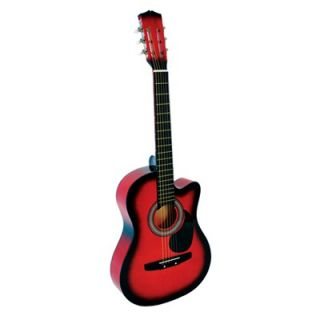 Stedman Pro Acoustic Cutaway Guitar with Gig Bag and Accessories in