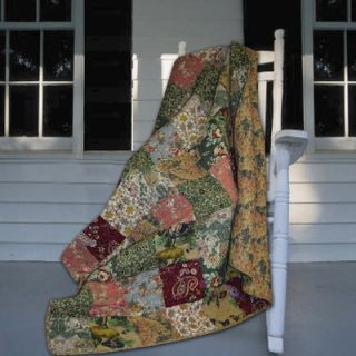 Greenland Home Fashions Antique Chic Throw   GL THROWAC