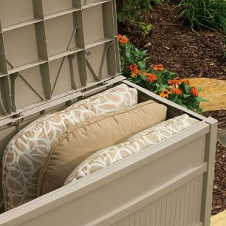 Suncast 50 Gallon Deck Box in Light Taupe