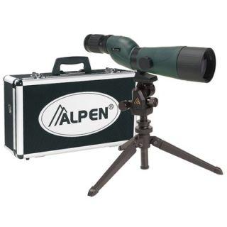Alpen Outdoor 20 60x60 Waterproof Spotting Scope Kit
