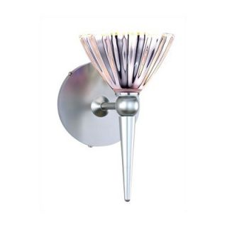 WAC Line Voltage Decorative Mini Wall Sconce Base with Round Metal