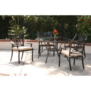 AIC Garden & Casual Star 5 Piece Dining Set   I202 65S 06
