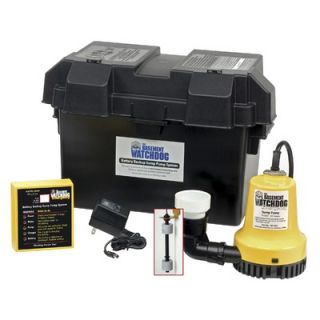 Basement Watchdog 1000 GPH Battery Backup Sump Pump System