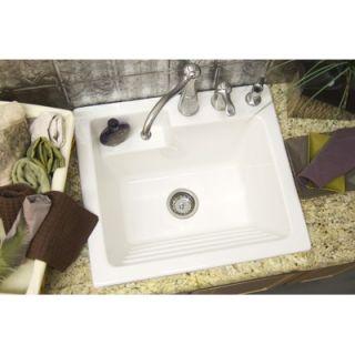 CorStone Advantage Hamilton Self Rimming Laundry Sink   65
