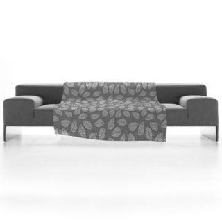 DENY Designs Bianca Green Leafy Fleece Throw Blanket   13897 fle