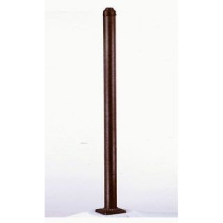 Savoy House Exterior Post in Rustic Bronze   5 PO 72