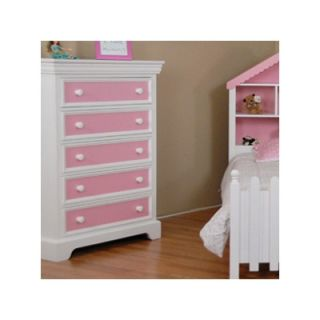 Decor Color Box 6 Drawer Dresser   SAV 011 70 W / SAV 011 71 W
