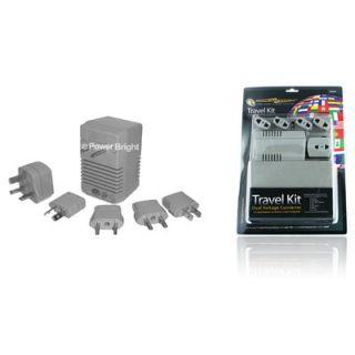 Power Bright Travel Kit Voltage Converter
