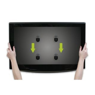 OmniMount Low Profile Fixed Mount for up to 42 TV Flat Panels   OMF