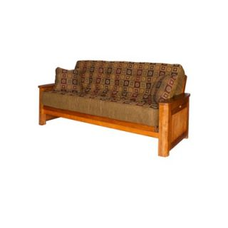 Big Tree Furniture Premium Hardwood Series Cascade Full Futon and