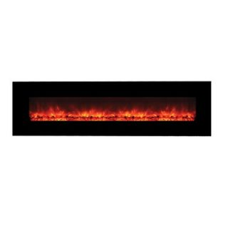 Yosemite Home Decor Wall Mounted Electric Fireplace   DF EFP1313