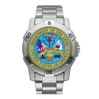 RAM Instrument Chrome Military U.S. Army Watch