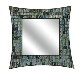Quoizel Monterey Mosaic Rectangular Mirror in Malaga   MY430241ML