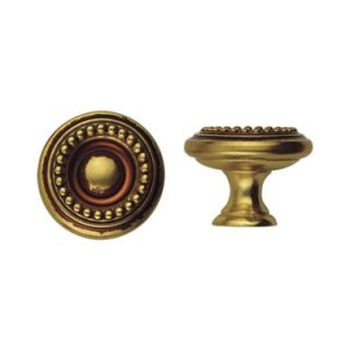 Bosetti Marella Louis XVI 0.98 Round Knob in French Antique Gold