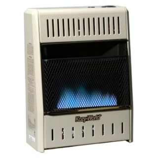 World Marketing 10000 BTU Dual Fuel Blue Flame Wall Heater