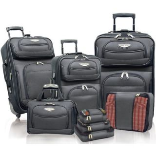 Travelers Choice Amsterdam II 8 Piece Luggage Set