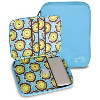 Amy Butler Nola Laptop Wrap in Buttercups Turquoise   AB111
