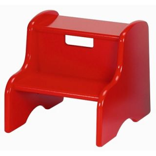 Little Colorado Kids Step Stool in Red   105 RD MDF