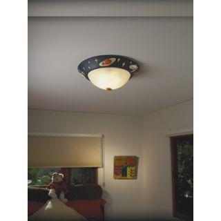 Justice Design Group Kids Room 3 Light Flush Mount   KID 6188