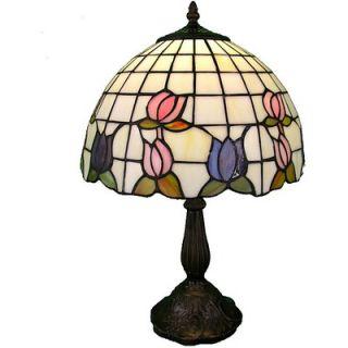 Warehouse of Tiffany Rose Border Table Lamp   A12 17aa