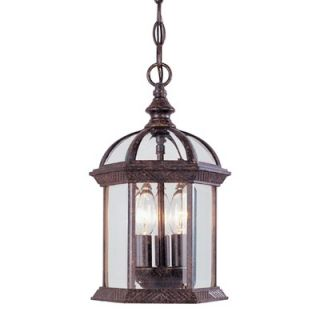 Savoy House Kensington Outdoor Hanging Lantern in Rustic Bronze   5
