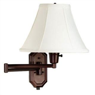 Kenroy Home Nathaniel 12 Swing Arm Lamp in Bronze   30130BRZ