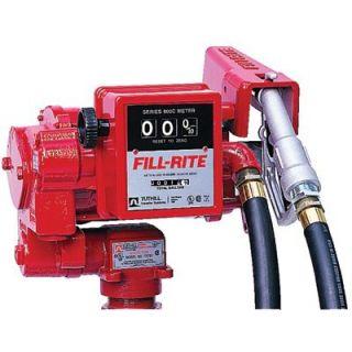 Fill Rite Utility Rotary Vane Pumps   115v ac hd transfer pumpw/meter