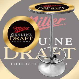 Trademark Global Miller Genuine Draft Pub Table