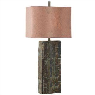 Kenroy Home Slateworks Ripple Table Lamp in Slate