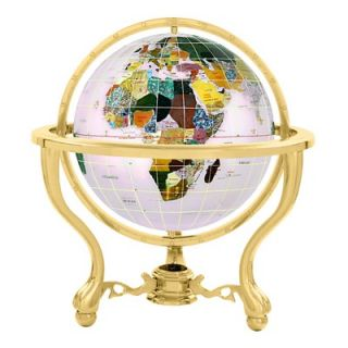 Alexander Kalifano 6 Commander Opal Globe with Three Leg Stand in