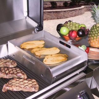 Little Griddle Innovations Griddle Q Half Size Stainless Steel BBQ