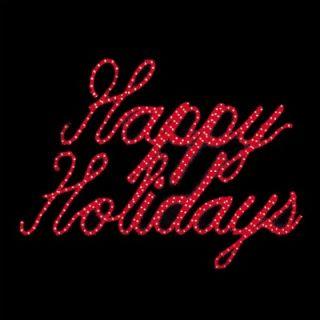 Holiday Lighting Specialists Happy Holidays LED Ropelight