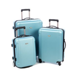 Travelers Choice Freedom 3 Piece Lightweight Hard Shell Spinning