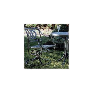 Telescope Casual Cadiz Swivel Rocker Dining Arm Chair