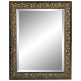 Imagination Mirrors Gorgeous Reflection Wall Mirror in Dark Gold