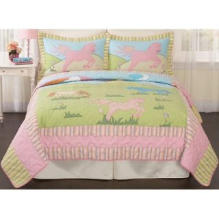 My World My Pony Full / Queen Quilt with 2 Shams   QS3791FQ 2300
