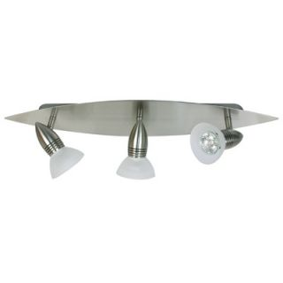 Eurofase Ultra Three Light Multiple Bar / Spot Light in Satin Nickel