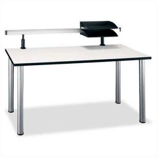 Bush Aspen   Large Rectangle Training Table   TS85202, TS85402