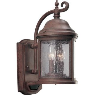 Progress Lighting Ashmore Outdoor Wall Lantern with Motion Sensor