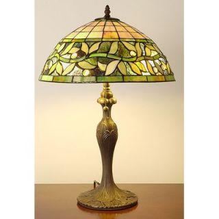Warehouse of Tiffany Vine Pattern Table Lamp   2334#+BB 06