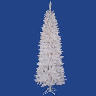Vickerman Crystal White Spruce 6 Pencil Artificial Christmas Tree