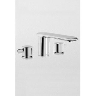 Toto Aquia Double Handle Deck Mount Tub Only Faucet   TB416DD BN