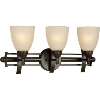 Forte Lighting Three Light Vanity Light   5231 03 32 / 5231 03 55